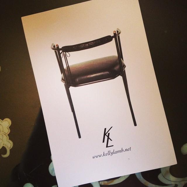 Gorgeous Artemis Chair #kellylamb #westedgedesign #dimodapr #petergurskidesigninc