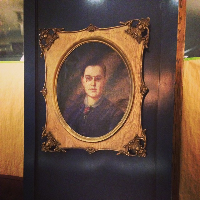 Matron Cass, patron of the wounded soldiers cared for at the GAR, back-in-day! #republictaverndetroit #gardetroit #petergurskidesign @ladson2 @chefkatelikesit @mr_swaggerdad